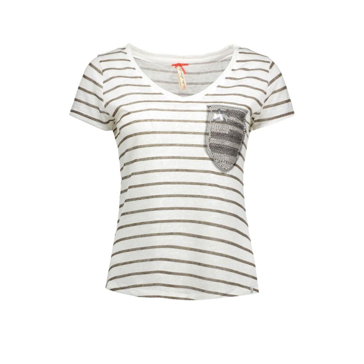dt00738 key largo t-shirt off-white