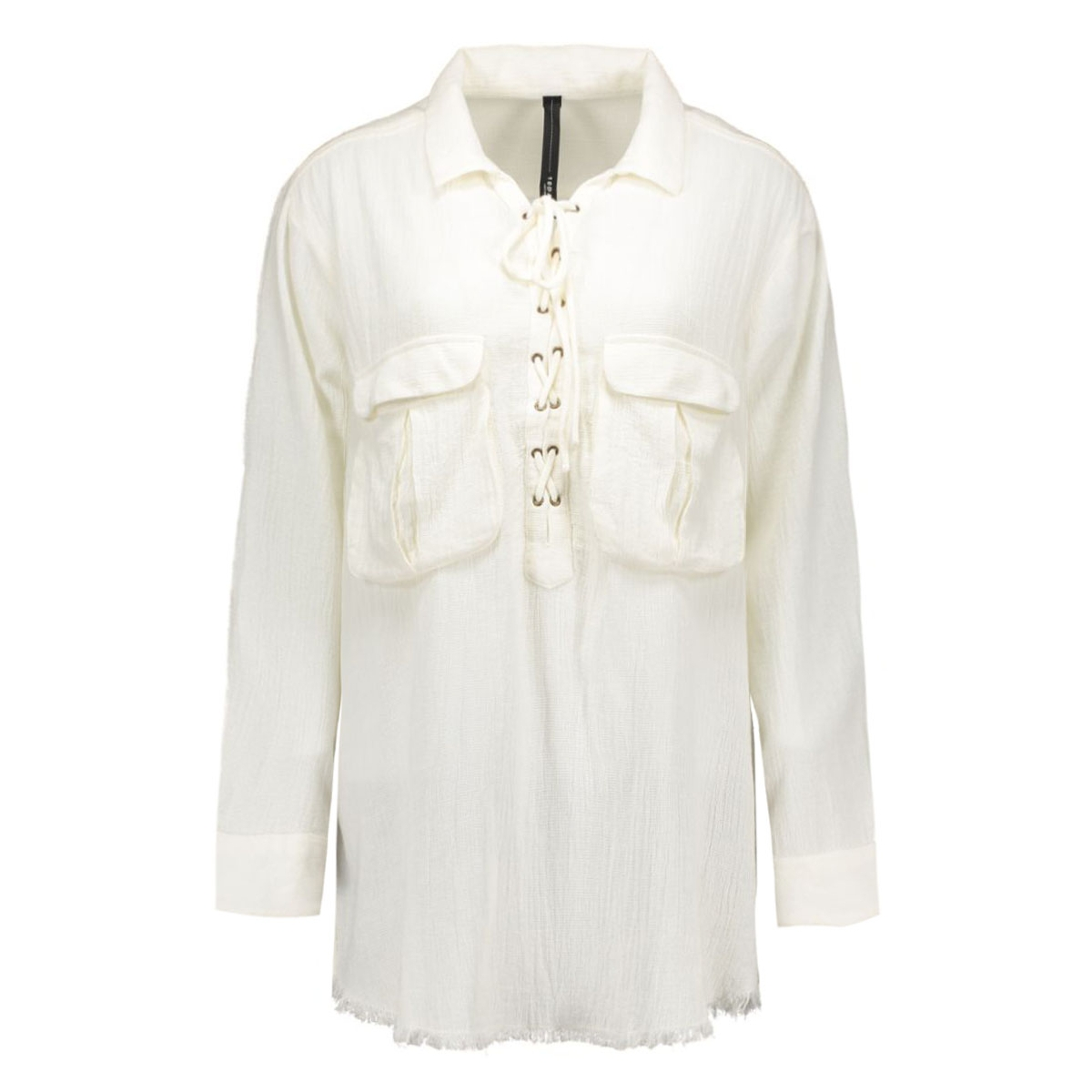 16wi408 10 days blouse ecru