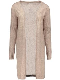 vmaltha ls long slit cardigan 10160503 vero moda vest rose dust/melange