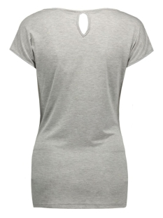 mlgrace s/s jersey top 20006680 mama-licious positie shirt light grey melange