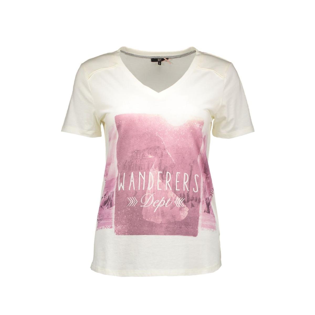 31101008 dept t-shirt 10060 ivory