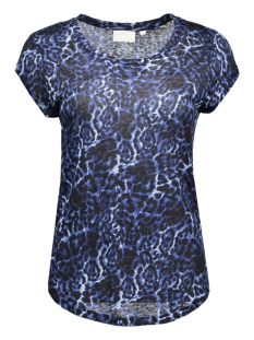 InWear T-shirt Vuzima MA16 print 30101093 11004 Leopard Ink