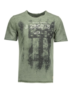 jjvdarrell ss tee crew neck 12109854 jack & jones t-shirt olive night/t&s