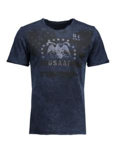 Jack & Jones T-shirt JJVDARRELL SS TEE CREW NECK 12109854 Mood Indigo/T&S