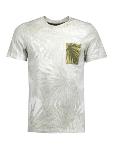 jorbag tee ss crew neck 12118443 jack & jones t-shirt aloe/t&s