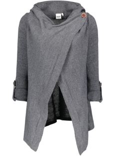 OBJDEANNA L/S KNIT CARDIGAN NOOS 23021359 Medium Grey Melange