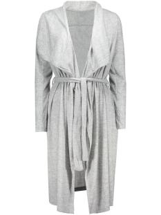 vilune knit coatigan gv 14035652 vila vest light grey melange
