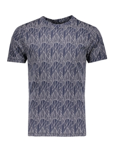 onsNOW AOP FITTED TEE 22004492 Dress Blues