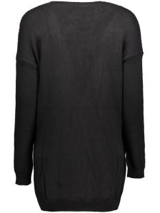 objdeah l/s knit cardigan 86 .i 23022729 object vest black