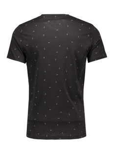 onsnader fitted aop tee 22004128 only & sons t-shirt black