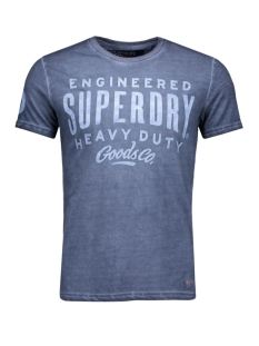 Superdry T-shirt M10013XN navy