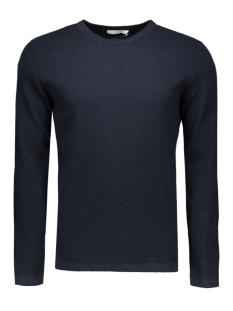 jprtrevor knit crew neck noos 12109891 jack & jones trui navy blue
