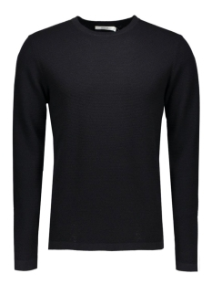 Jack & Jones Truien JPRSTEVE KNIT CREW NECK NOOS 12110202 black