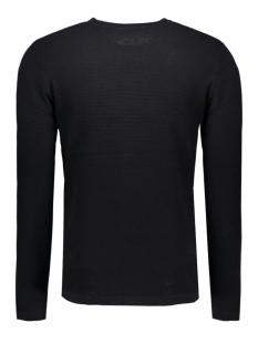 jprsteve knit crew neck noos 12110202 jack & jones trui black