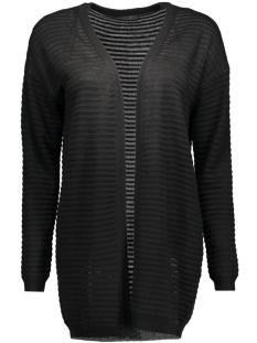 Only Vest onlOLIVIA NEW L/S CARDIGAN KNT NOOS 15115121 Black