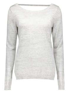 vilesly l/s knit top tb 14035529 vila trui super light grey