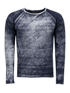 jorpaint knit crew neck 12097042 jack & jones trui navy blazer