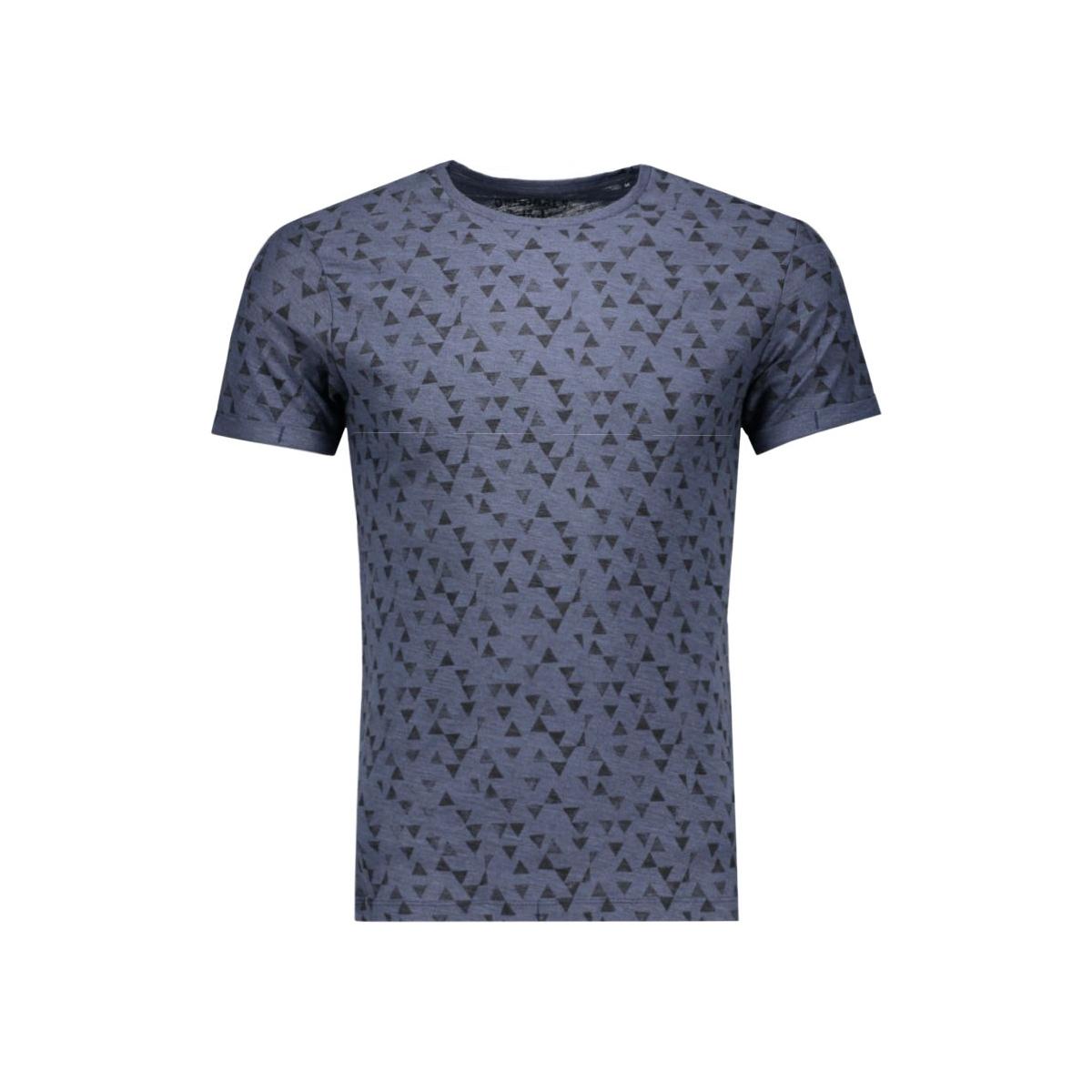 jorwater tee ss crew neck 12106990 jack & jones t-shirt navy blazer