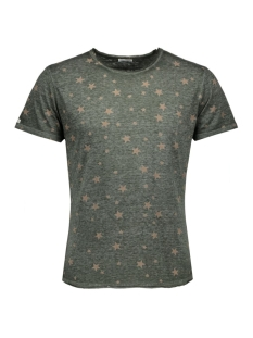 Key Largo T-shirt T00717 STARS 1514 OLIVE