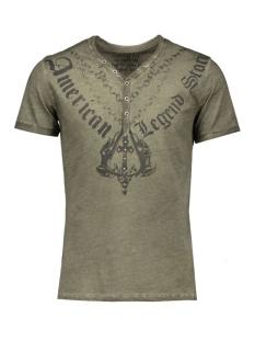 Key Largo T-shirt T00759 STORIES 1502 MIL.GREEN