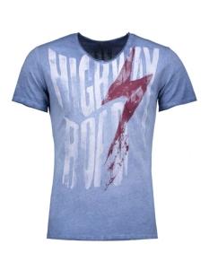 Key Largo T-shirt T00760 HIGHWAY 1201 DARK BLUE