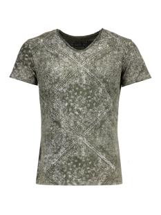 Key Largo T-shirt T00764 MEXICO 1502 MIL.GREEN
