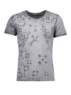 Key Largo T-shirt T00766 SPLASH 1107 Silver