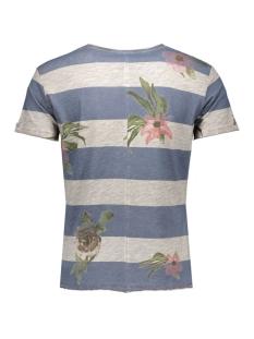 t00712 t felix key largo t-shirt 2157 silver-navy