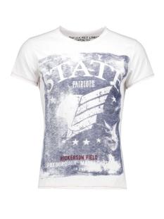 Key Largo T-shirt T00751 T BAY STATE 1000 WHITE
