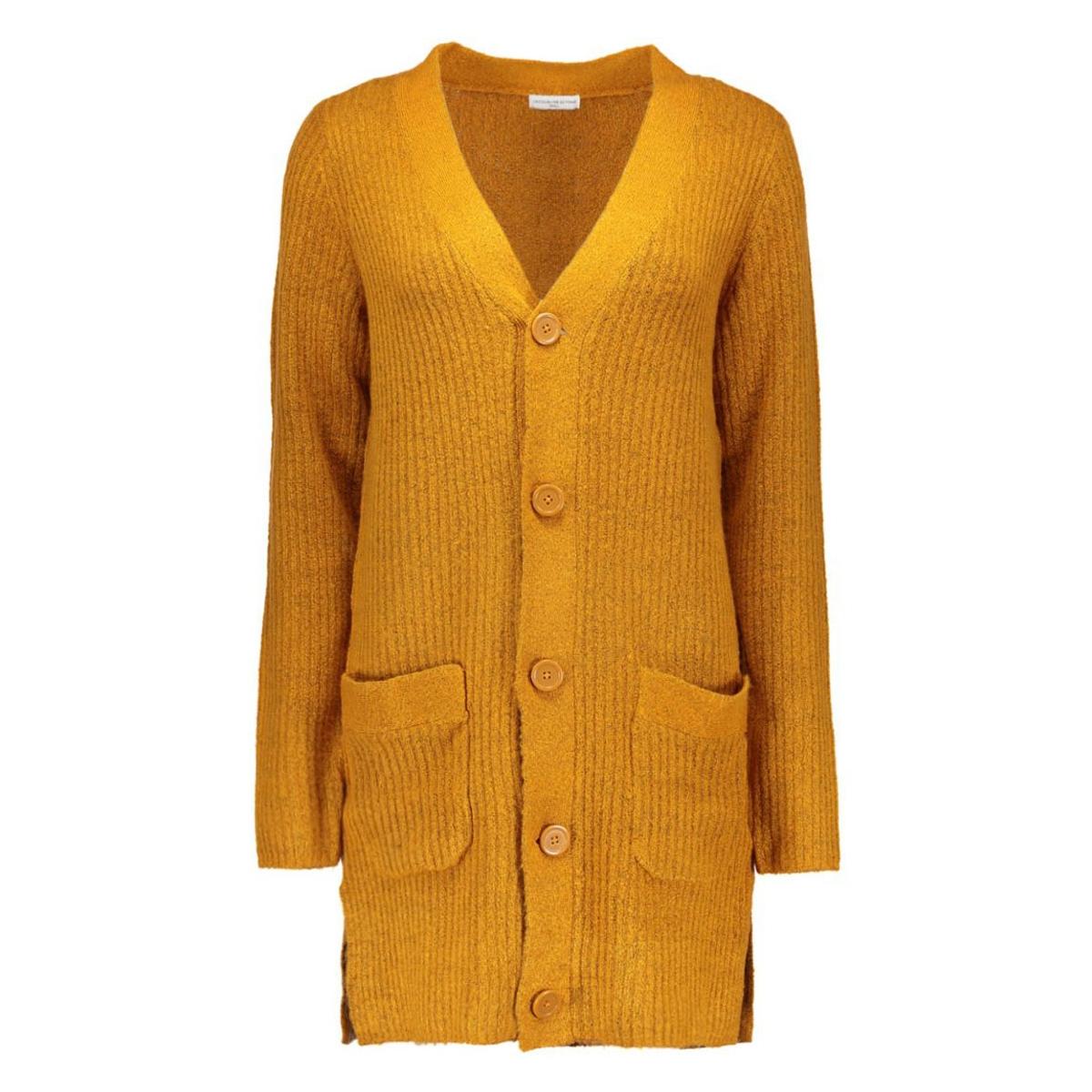 jdyarken l/s cardigan noos knt 15117366 jacqueline de yong vest pumpkin spice