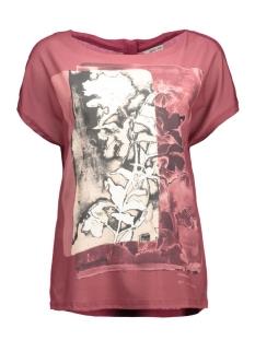 Garcia T-shirt T60212 1952 Burgundy red