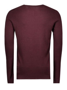 jjprlucas knit v-neck noos 12092895 jack & jones trui port/melange