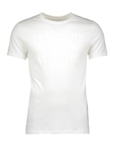 Jack & Jones T-shirt JCOSHARP TEE SS CREW NECK 12108919 Blanc de blanc
