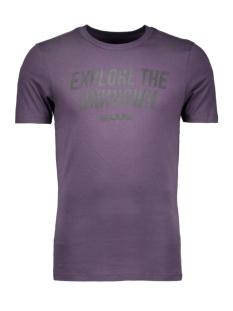 Jack & Jones T-shirt JCOSHARP TEE SS CREW NECK 12108919 Nightshade
