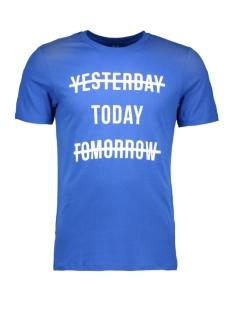 Jack & Jones T-shirt JCOSHARP TEE SS CREW NECK 12108919 Nautical Blue