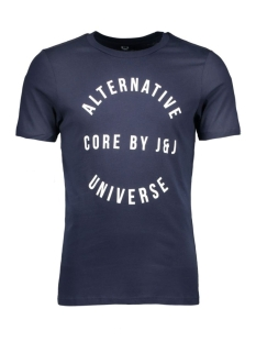 jcosharp tee ss crew neck 12108919 jack & jones t-shirt navy blazer