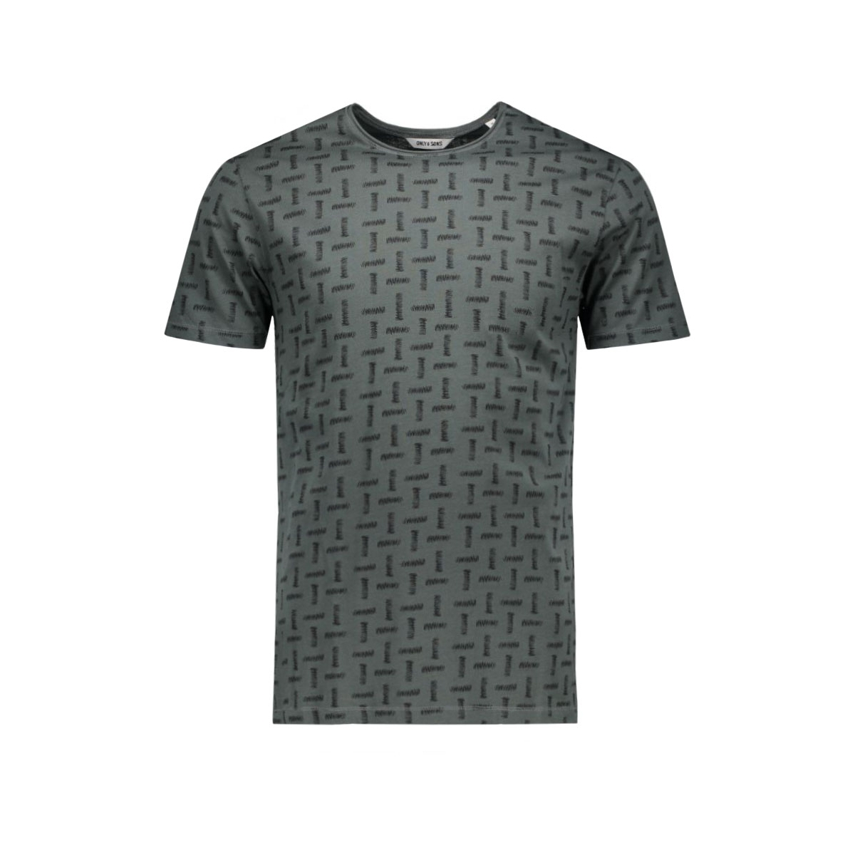 onskomma fitted aop tee 22004290 only & sons t-shirt utrban chic