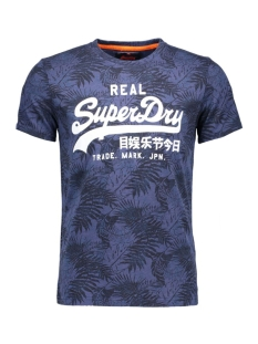Superdry T-shirt M10012XN  XJL Grey Marl Navy