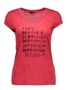 31101070 dept t-shirt 21907 intense red melange