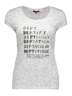DEPT T-shirt 31101070 11790 ivory melange