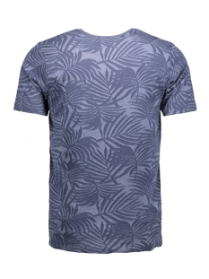 jpramy tee ss crew neck 12117044 jack & jones t-shirt navy blazer/tall and s