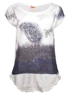 dt00740 key largo t-shirt off white