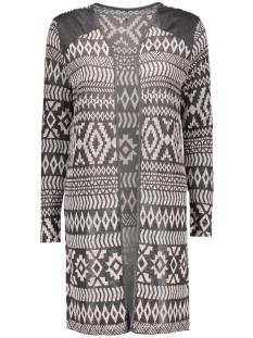 onlcasey l/s open cardigan knt 15123307 only vest medium grey melange