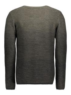 jorswing knit crew neck camp 12109553 jack & jones trui rosin