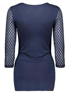 mlsaka 3/4 jersey top 20006393 mama-licious positie shirt navy blazer