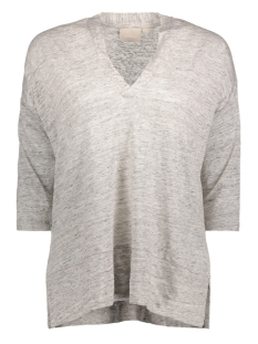 InWear T-shirt Yori Tshirt 10030 Light Grey Melange