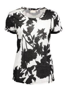 InWear T-shirt Wuzima MS Print KNTG 30101886 11071 Monocrome Flower