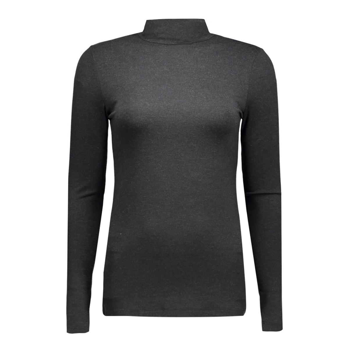 pcmila ls turtleneck 17071293 pieces t-shirt dark grey melange
