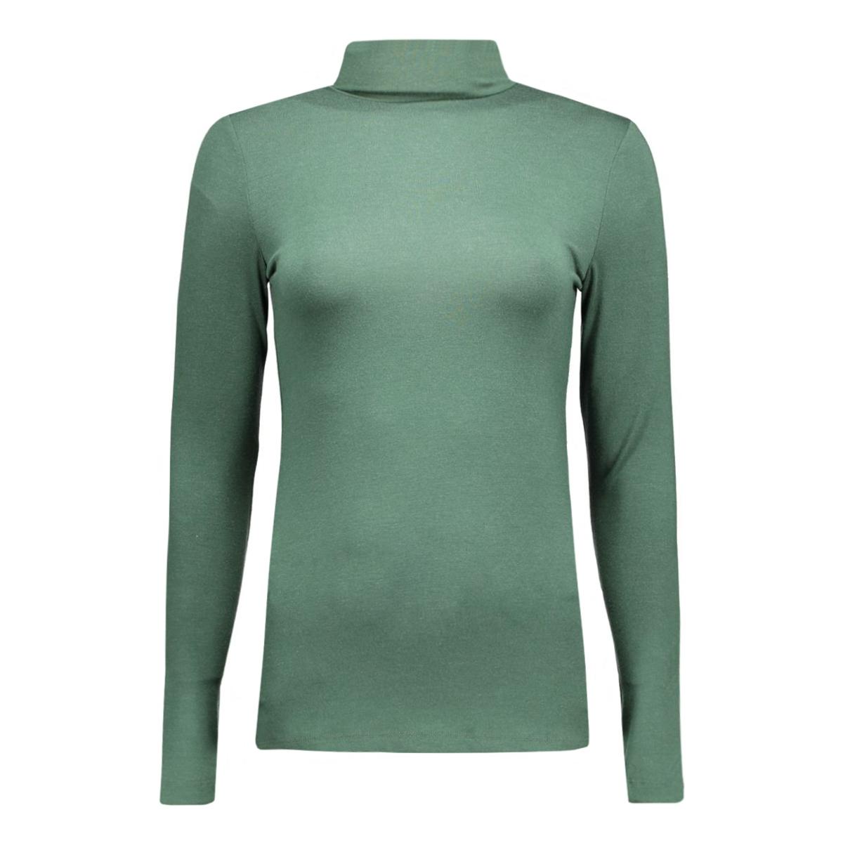 pcmila ls turtleneck 17071293 pieces t-shirt sycamore