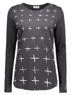 OSI femmes T-shirt AZI LYOCEL Dark Grey